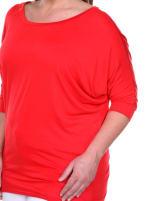 Bat Sleeve Tunic Top - Plus - 3