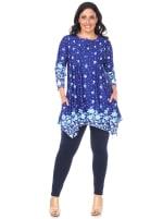 Plus Size Vilana Tunic/Top - 3