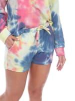 Tie Dye Lounge Top & Shorts Set - 3