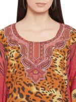 Leopard Printed Kaftan - 3
