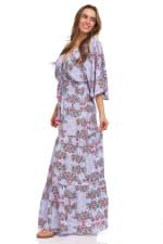 Patchwork Maxi Dress - 5