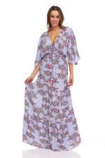 Patchwork Maxi Dress - 8