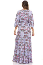 Patchwork Maxi Dress - 2