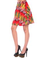 Heidi Flared Mini Skirt - 6