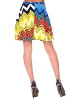 Heidi Flared Mini Skirt - 2