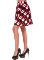 Heidi Triangle Flared Mini Skirt - 5