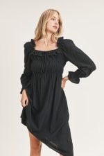 Emery Woven Dress - 6