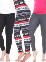 Pack of 3 Plus Size Leggings - 4