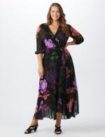 Maxi  Floral Ruffle Dress-Plus - 5