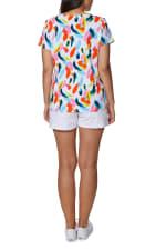 Caribbean Joe Printed Knit Tee - 5