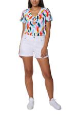 Caribbean Joe Printed Knit Tee - 4