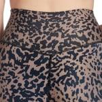 Sage Everyday Printed Suede Spotted Cheetah Legging - 3