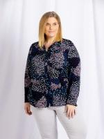Cooper & Ella Front Button Long Sleeve Harlow Shirt - Plus - 3