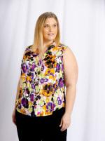 Cooper & Ella - Rae Sleeveless Front Button Shirt - Plus - 2
