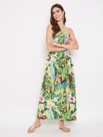 Trendy Polyester Flora Tubedress - 24