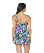 Nautica Lace Up Swimdress - Deep Sea - Back