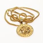 Dell Arte by Jean Claude Gemini Zodiac Sign Pendants Necklace - 2