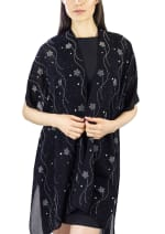 Stones and Studs Falling Star Kimono - 1