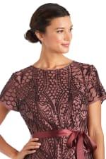 Sequin Godet Gown - Petite - 3
