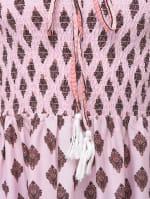Long Beach Pink Strapless Tube Dress - 3