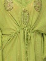 Summer Cover-Up Swimsuit Beach Dress - Green - Detail