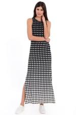 Shannon Halter Slits Maxi Dress - 3