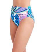 Tahari Paris Floral Hi Waist Swimsuit Bottom - 3