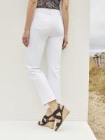 Westport Signature 5 Pocket Straight Leg Jean - Misses - Optic White - Back