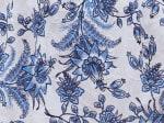 Roz & Ali Bijoux Blue Floral Jacquard Popover - 3