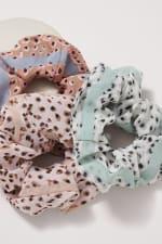Leopard Print Scrunchies - 3