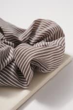 Striped Hair Scrunchies - 2