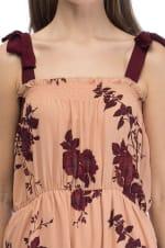 Grosgrain Strap Tie Dress - 3
