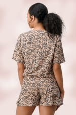 Leopard Lounge Wear Pajama Set - 2