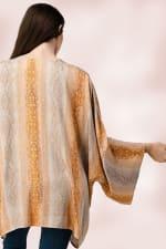 Oversized Kimono in Snakeskin Printed - 6