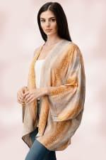 Oversized Kimono in Snakeskin Printed - 7