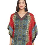 Kaftan Long Maxi Dress - Plus - 3