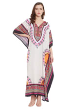 Kaftan Long Maxi Dress - Plus - 1