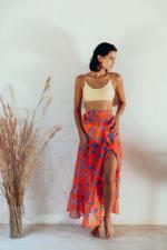 Maxi Skirt in Aix - 4