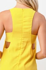 Kaii Open Side Stitch Detail Dress - 3