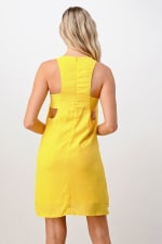 Kaii Open Side Stitch Detail Dress - 2