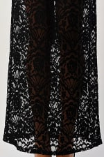 Kaii Lace Maxi Skirt With Cotton Core Bow - 3