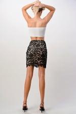 Kaii Lace Midi Skirt - 4