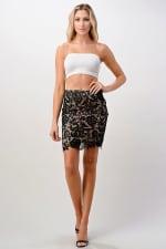 Kaii Lace Midi Skirt - 3