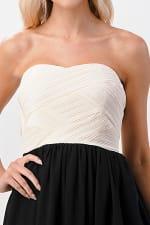 KAII Crystal Pleated High-Low Maxi Dress - 3