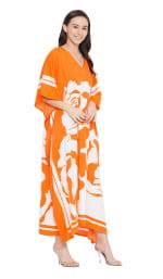 Handmade Maxi Kaftan Dress - Plus - 26