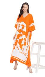 Handmade Maxi Kaftan Dress - Plus - 27