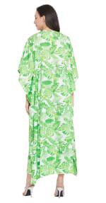 Green Maxi Kaftan Dress - Plus - 2