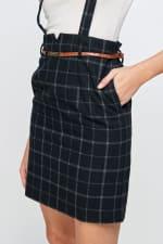 Kaii Suspender High Waisted Skirt - 4