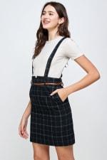 Kaii Suspender High Waisted Skirt - 3