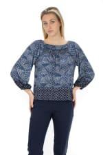 Zac & Rachel 3/4 Sleeve Knit Top - 1